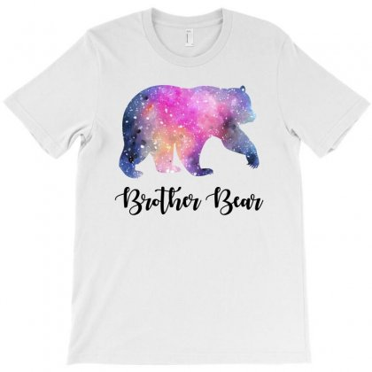 Watercolor Galaxy Bear Family Matching - Brother Bear T-shirt Designed By Honeysuckle