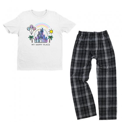 Happiest Castle On Earth Youth T-shirt Pajama Set Designed By Verolvori
