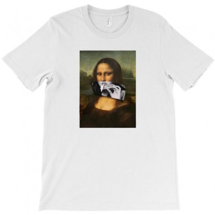 Cool Mona T-shirt Designed By Disgus_thing