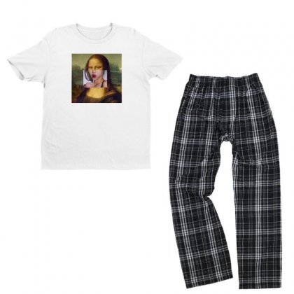 Mona Lolipop Youth T-shirt Pajama Set Designed By Disgus_thing