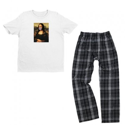 Mona Bubble Gum Youth T-shirt Pajama Set Designed By Disgus_thing