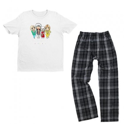 Friends Youth T-shirt Pajama Set Designed By Disgus_thing