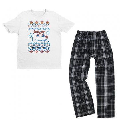 Gerald Ugly Sweater Youth T-shirt Pajama Set Designed By B4en1