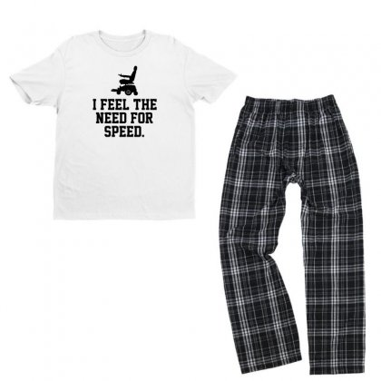 I Feel The Need For Speed Youth T-shirt Pajama Set Designed By Erryshop