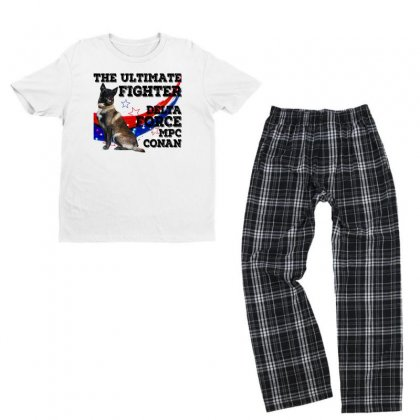 The Ultimate Fighter Delta Force Mpc Conan For Light Youth T-shirt Pajama Set Designed By Sengul