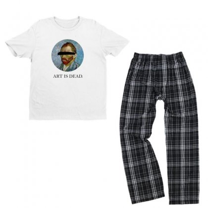 Art Youth T-shirt Pajama Set Designed By Disgus_thing