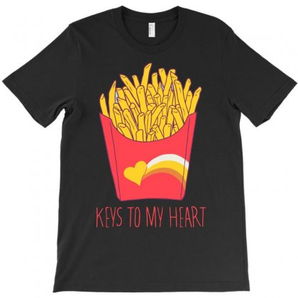 Keys To My Heart Funny T-shirt Designed By Erryshop