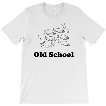 Old School Of Fish T-shirt Designed By Erryshop