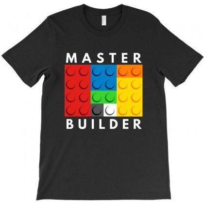 Master Builder   For Dark T-shirt Designed By Tillyjemima Art