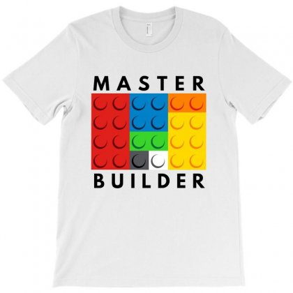 Master Builder   For Light T-shirt Designed By Tillyjemima Art