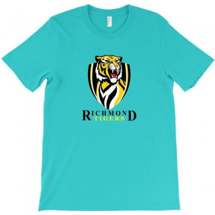 Tigers Together Afl Logo T-shirt Designed By Doniemichael