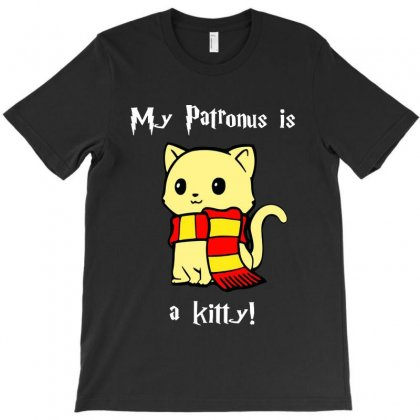 My Patronus Is A Kitty T-shirt Designed By Tillyjemima Art