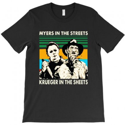 Myers In The Streets Krueger T-shirt Designed By Tillyjemima Art