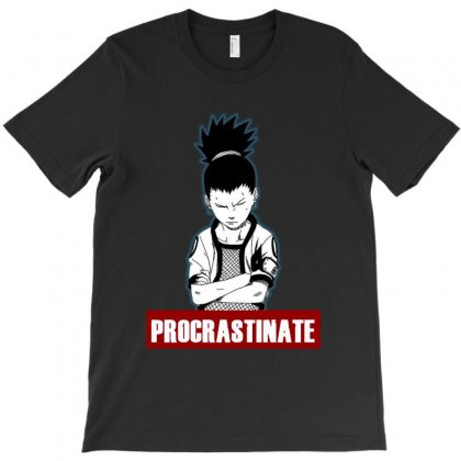Procrastinate Shikamaru T-shirt Designed By Tillyjemima Art