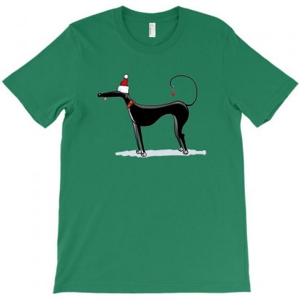 Greyhound Antlers T-shirt Designed By Coolmarcell