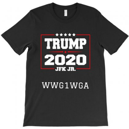 Trump 2020 Jfk Jr   For Dak T-shirt Designed By Tillyjemima Art