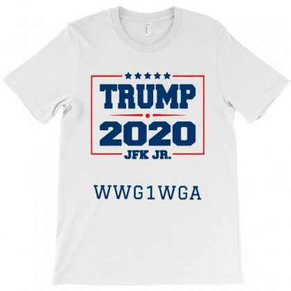 Trump 2020 Jfk Jr   For Light T-shirt Designed By Tillyjemima Art