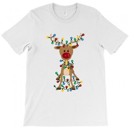 Adorable Reindeer T-shirt Designed By Ahmadjufriyanto