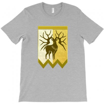 Golden Deer Emblem T-shirt Designed By Ahmadjufriyanto