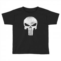 Punisher Skull Vintage Toddler T-shirt | Artistshot