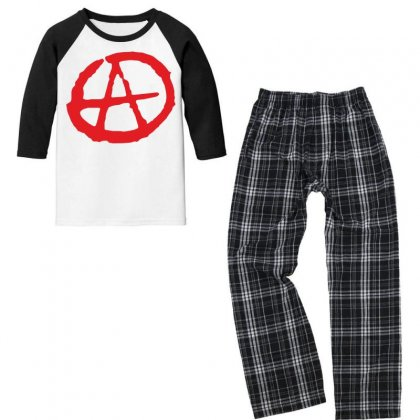 A Youth 3/4 Sleeve Pajama Set Designed By Estore