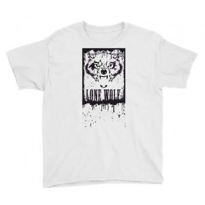 Lone Wolf Youth Tee Designed By Estore