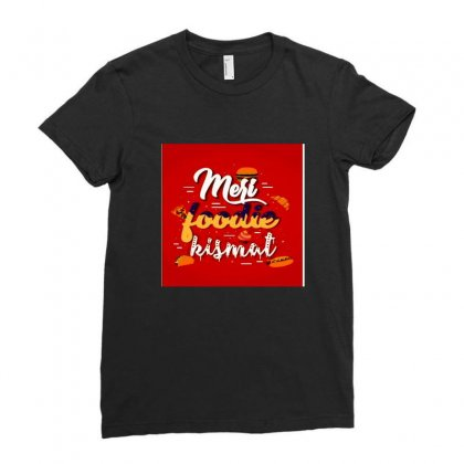 Food Lover Ladies Fitted T-shirt Designed By Shruti Thahryani