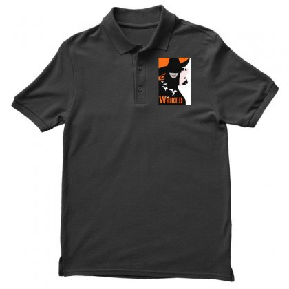 Wicked Broadway Musical Men's Polo Shirt Designed By Mirazjason