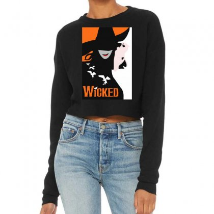 Wicked Broadway Musical Cropped Sweater Designed By Mirazjason