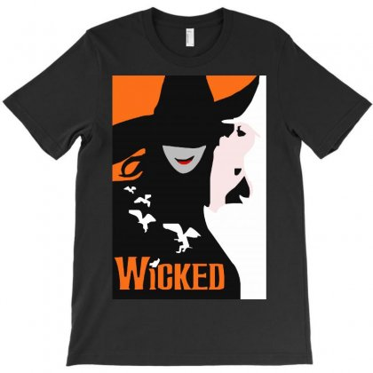 Wicked Broadway Musical T-shirt Designed By Mirazjason