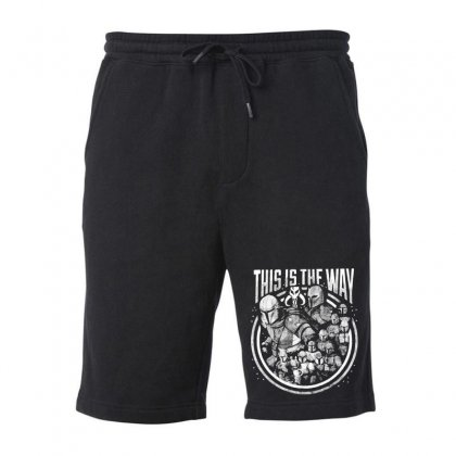 This Is The Way Fleece Short Designed By Mirazjason