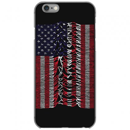 Unknown Pleasures Usa Flag Iphone 6/6s Case Designed By Mirazjason
