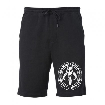The Mandalorian Bounty Hunter Faded Fleece Short Designed By Mirazjason