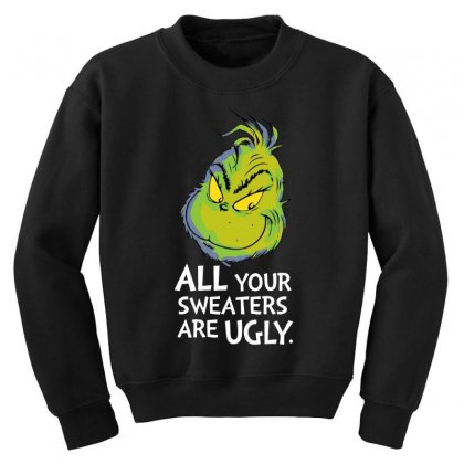 All Your Sweaters Are Ugly   For Dark Youth Sweatshirt Designed By Mirazjason
