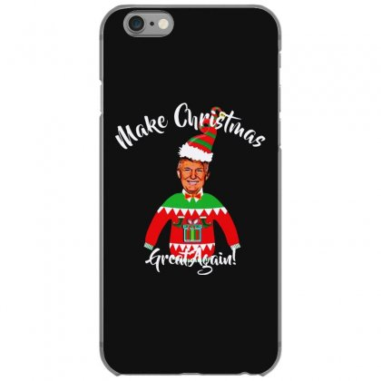 Funny Trump Christmas Ugly Christmas Iphone 6/6s Case Designed By Mirazjason