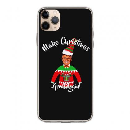 Funny Trump Christmas Ugly Christmas Iphone 11 Pro Max Case Designed By Mirazjason