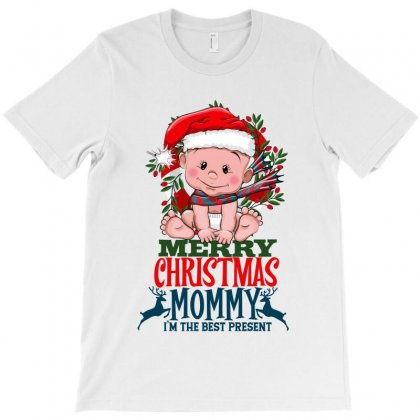 Merry Christmas Mommy T-shirt Designed By Tiococacola