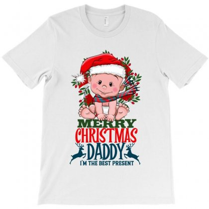 Merry Christmas Daddy T-shirt Designed By Tiococacola