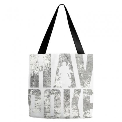 I Have Spoken The Mandalorian - Grunge Background Tote Bags Designed By Dejavu77
