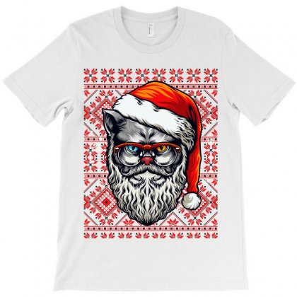 Official Cat Meme Woman Yelling At A Cat Christmas Shirt T-shirt Designed By Tiococacola