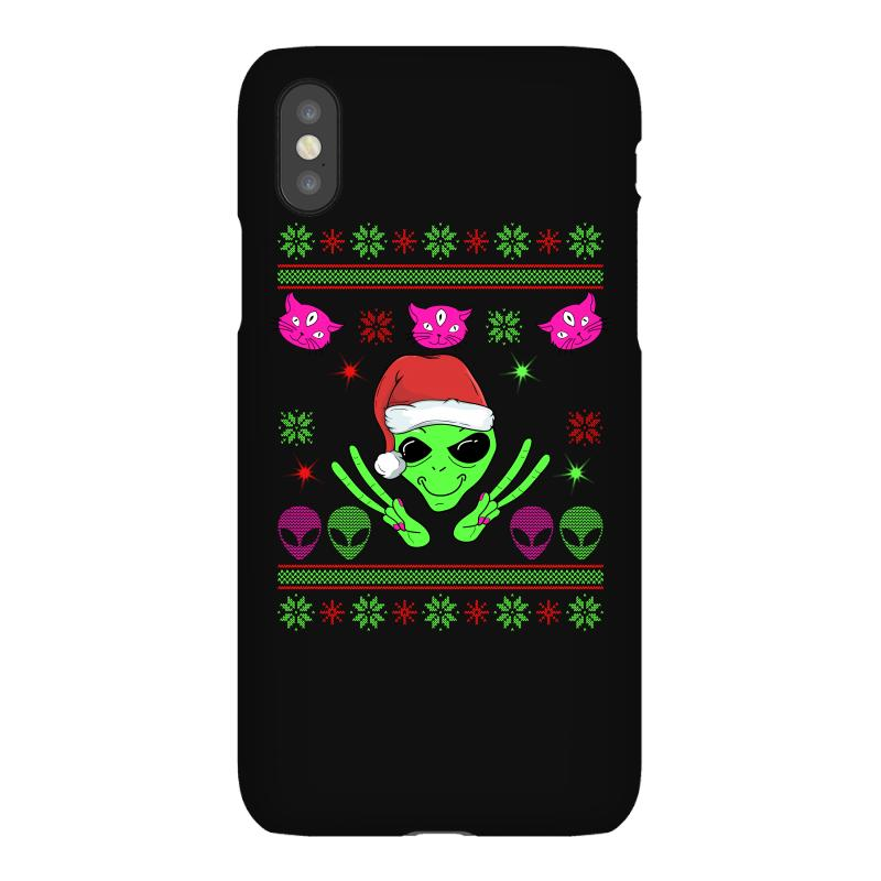 Alien Ugly Christmas Iphonex Case | Artistshot