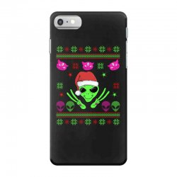alien ugly christmas iPhone 7 Case | Artistshot