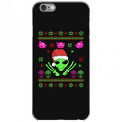 alien ugly christmas iPhone 6/6s Case | Artistshot