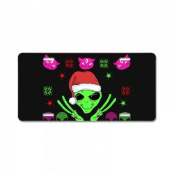 alien ugly christmas License Plate | Artistshot