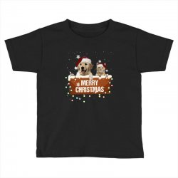 cat and dog merry christmas Toddler T-shirt | Artistshot