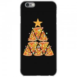 christmas tree pizza iPhone 6/6s Case | Artistshot