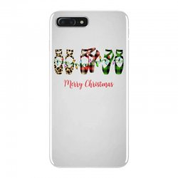 merry christmas ballerina shoes plaid pattern for light iPhone 7 Plus Case | Artistshot