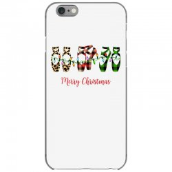 merry christmas ballerina shoes plaid pattern for light iPhone 6/6s Case | Artistshot