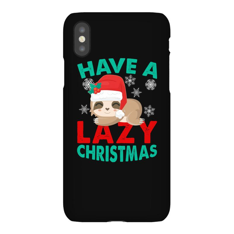 Have A Lazy Christmas Iphonex Case | Artistshot