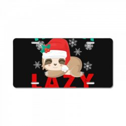 have a lazy christmas License Plate | Artistshot